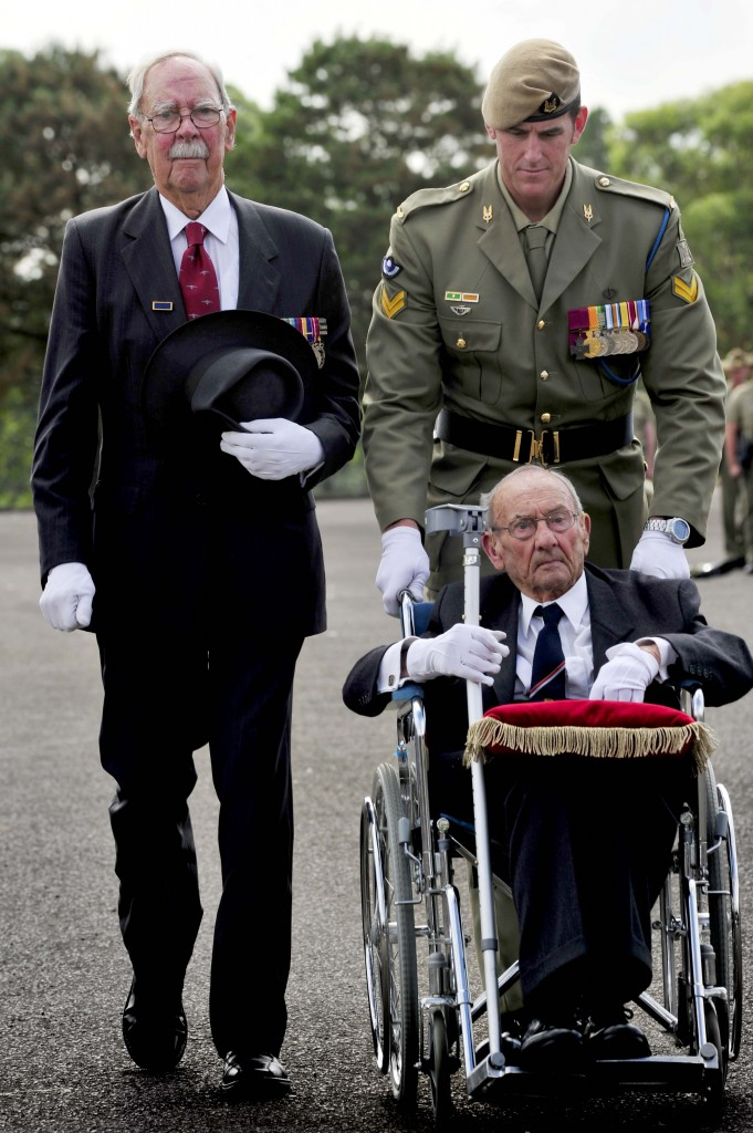 Dr Don Beard AM, the late Ben O'Dowd and Benjamin Roberts-Smith VC