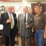 RARA SA President Mike von Berg, Sir Eric Neale and Bill Wallace