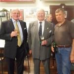 RARA SA President Mike von Berg, Sir Eric Neale and Bill Wallace