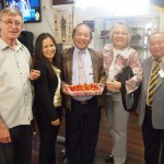 Ray Vadeikis, Charles Sturt Councillor Oanh Nguyen, Thu-Do President of the Alliance Democracy Freedom for Vietnam, Di Lewis and Tay Ngugen past President of the Vietnamese Veterans Association