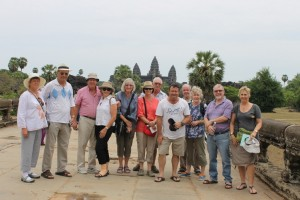 The group at Angkor Wat