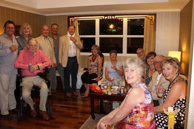 Mike & Ann's Party at The Rex Hotel, Saigon, 31Mar14