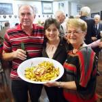 New sub-branch RSL Treasurer Steven Roberts, MP Frances Bedford, Denise Whelan