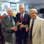Korean & Vietnam Veterans Colonel Peter Scott, Dr Donald Beard, Patrick Forbes MC