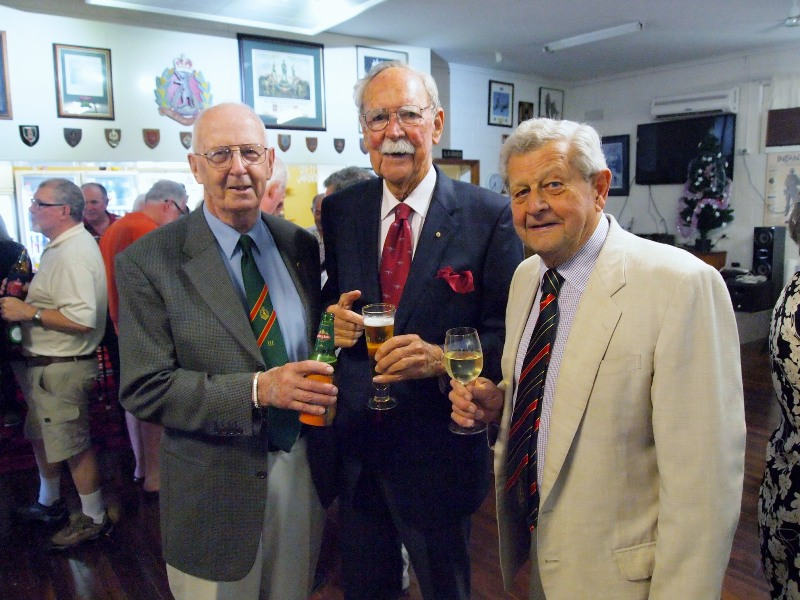 Korean & Vietnam Veterans Colonel Peter Scott, Dr Donald Beard, Patrick Forbes MC