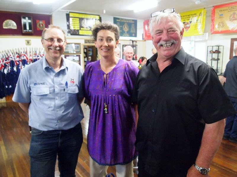 Tim & Marian Harper of Pioneer Tanks (Trojan Trek Sponsors), Moose Dunlop