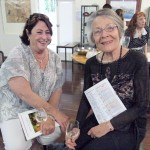 Kerri Sutton with Di Lewis (wife of Patron Laurie Lewis)
