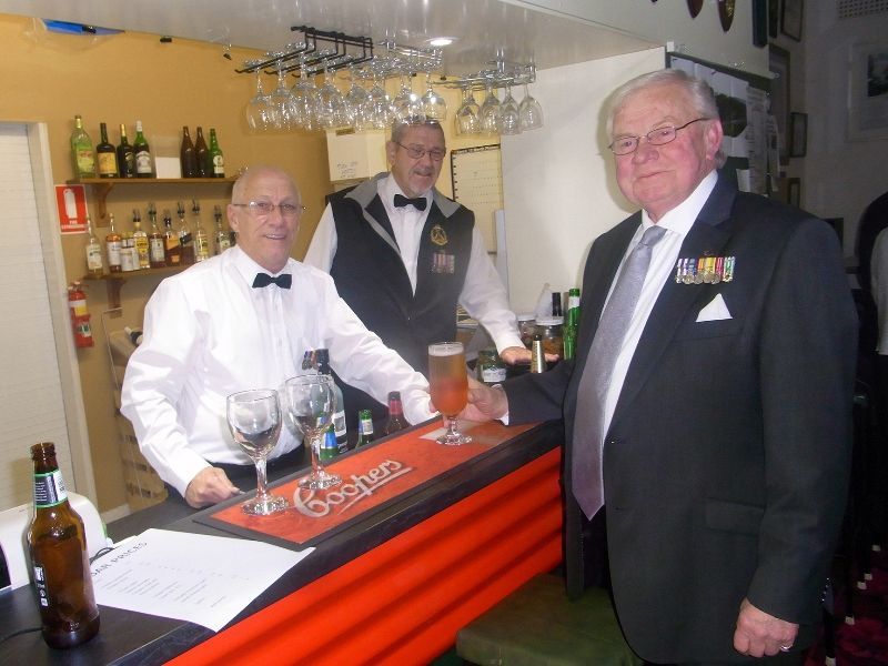 Club Manager Greg Dwiar, Bar Manager Neil Nichols & Mike von Berg
