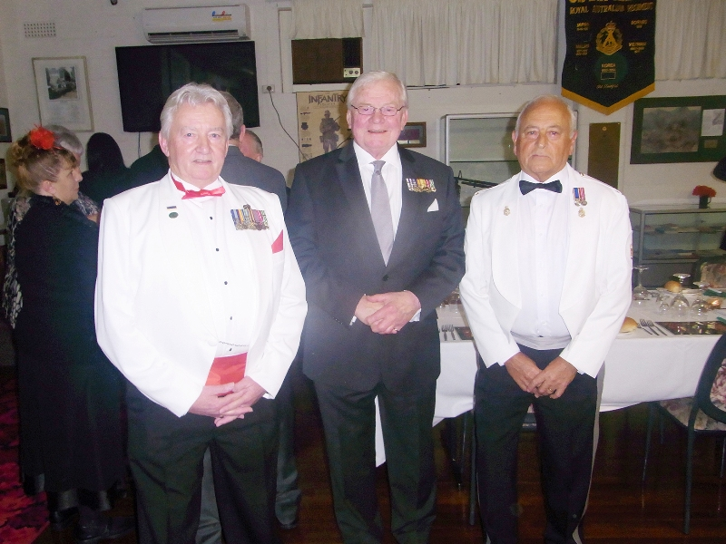Ken Duthie, President RARA SA Mike Von Berg, Colin Abel