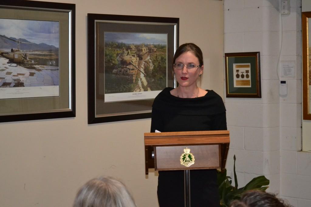 Guest Speaker Annaleise McCammon