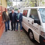 Checking out the RARA SA History Unit Van