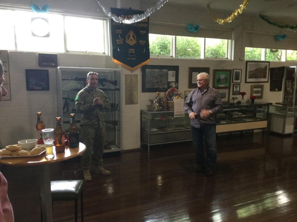 CO 7 RAR David McCammon with RARA SA President Mike von Berg