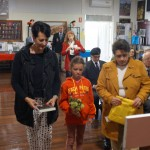 Vicki Chapman, Adelaide Chapman and Francis Bedford