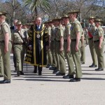Lord Mayor inspecting the Parade