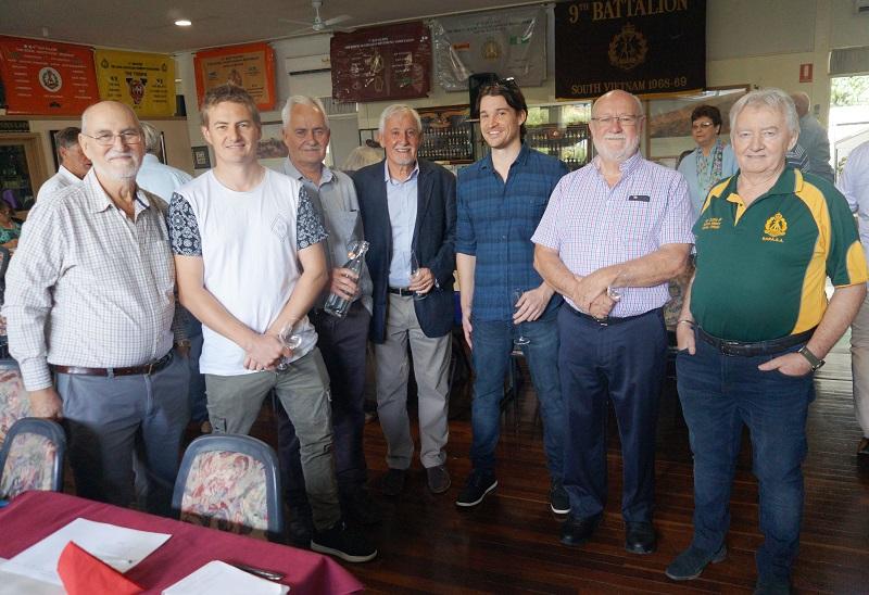 25March_Errol Moretti, Andrew White, David White, Rod White, Martin White, Peter Thorn and Ken Duthie