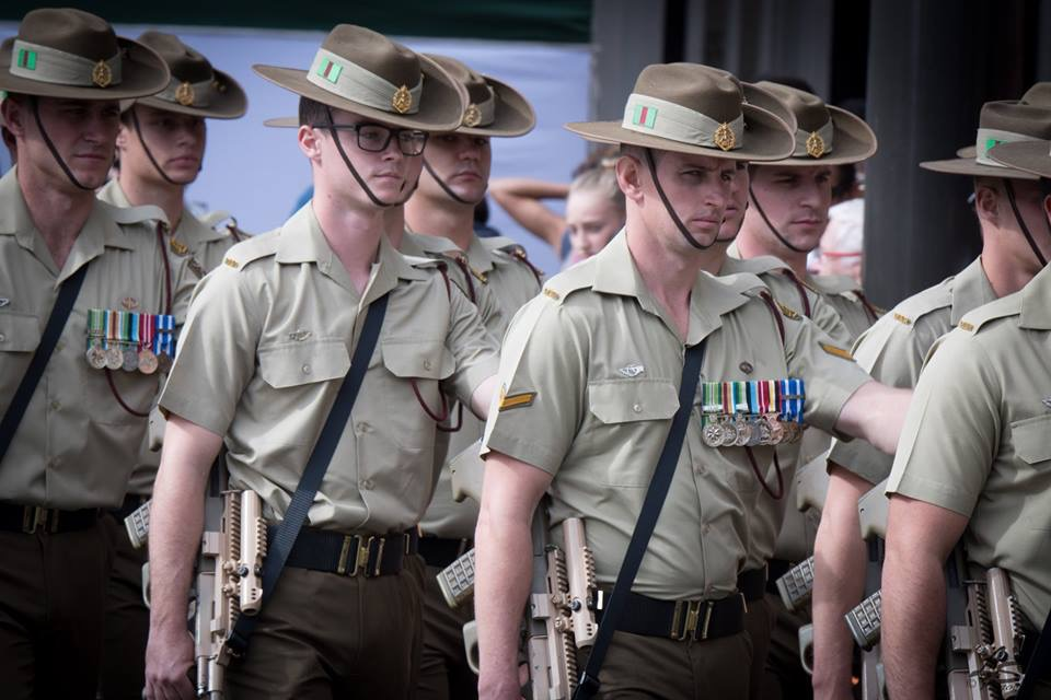 Anzac Day 2018 -7RAR