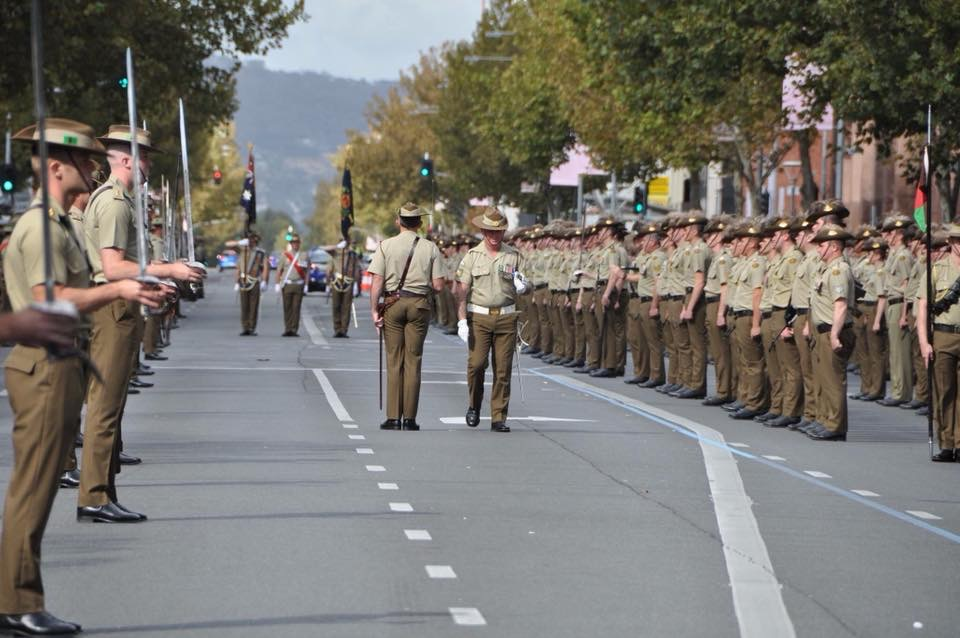 Anzac Day 2018 - 7RAR3