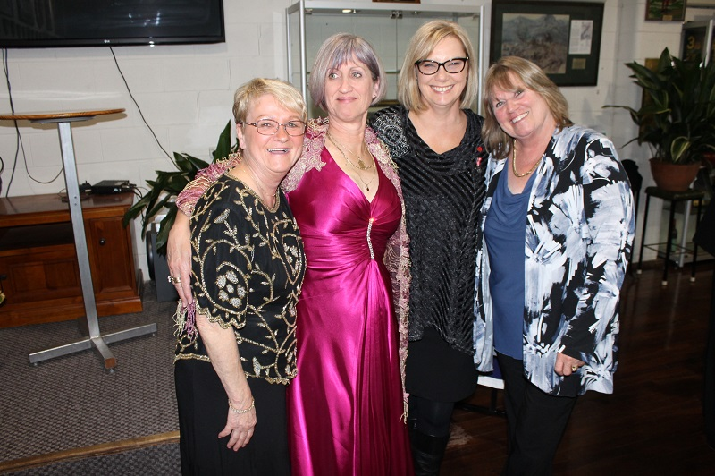 Denise Whelan, Michelle, Barb and Petra