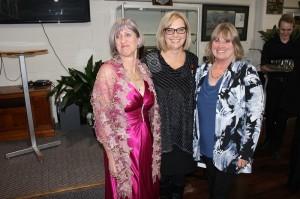 Michelle Gelberg, Barb Dixon and Petra Boyce