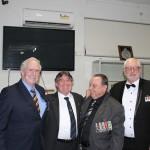 Noel, Ian Harty, Lou and Mike