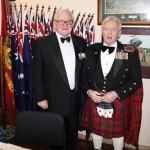 President Mike von Berg and Ken Duthie